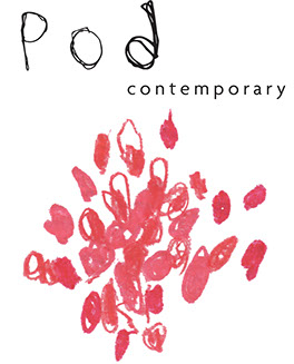 Graphic logo of Pod Contemporary